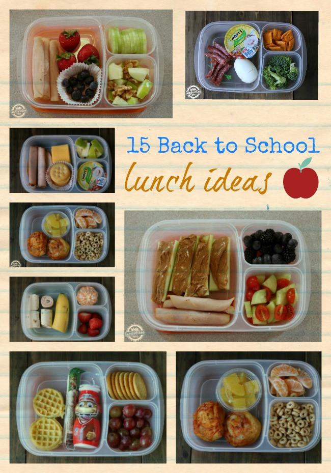 Back To School Lunch Ideas  15 Back to School Lunch Ideas