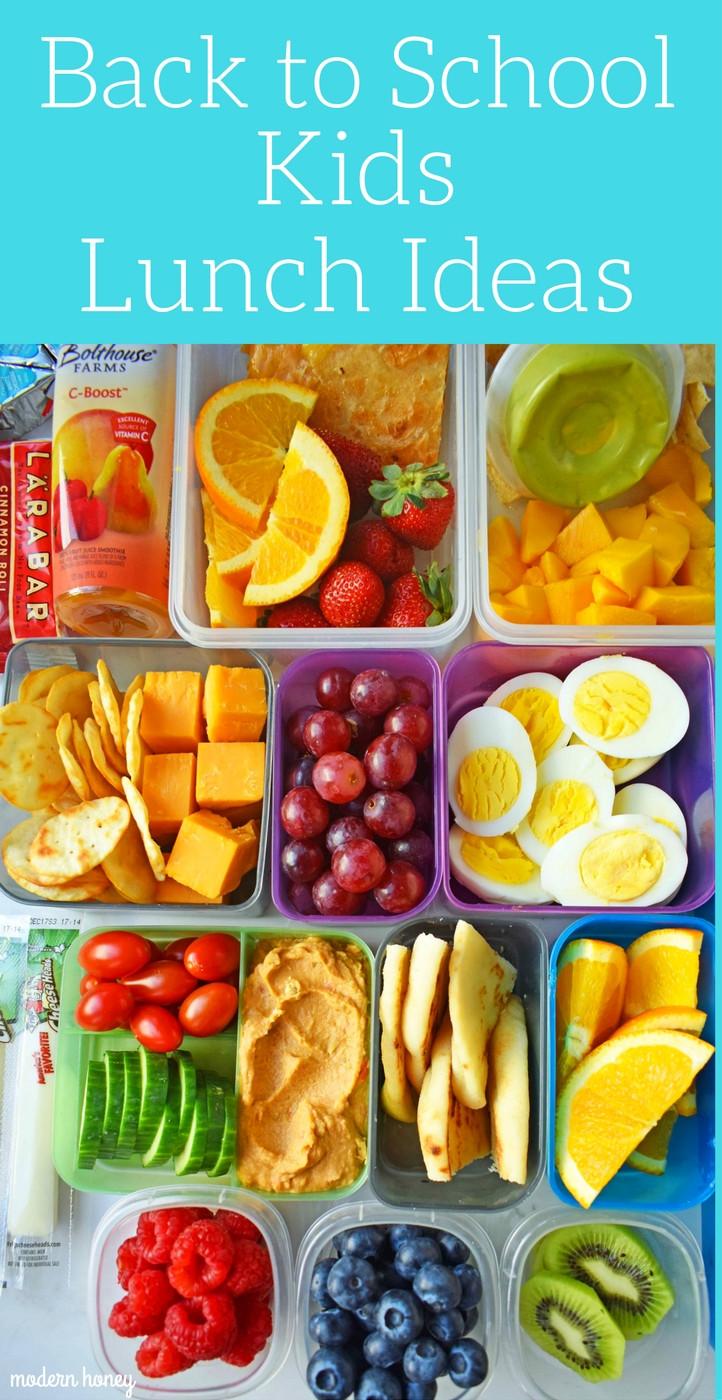 Back To School Lunch Ideas  Back to School Kids Lunch Ideas