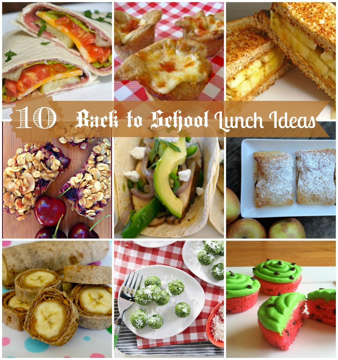 Back To School Lunch Ideas  10 Back To School Lunch Ideas by Somedutta Sengupta