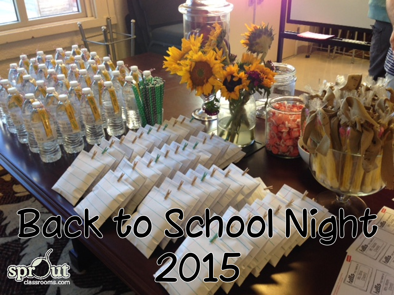 Back To School Night Ideas  Back to School Night 2015 Sprout Classrooms