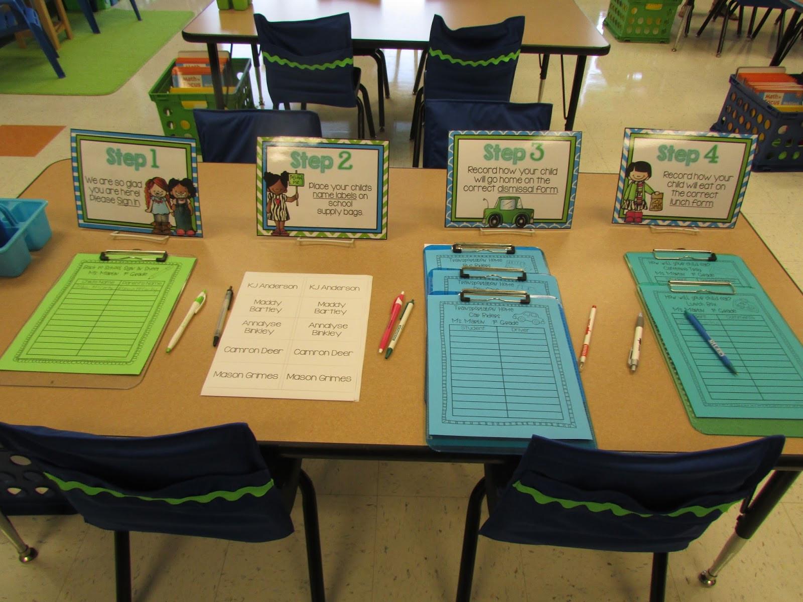 Back To School Night Ideas  MEET THE TEACHER