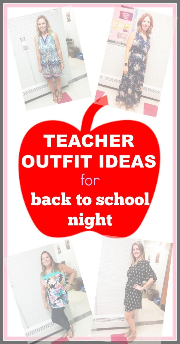 Back To School Night Ideas  Teacher Outfit Ideas for Back to School Night EVERYDAY