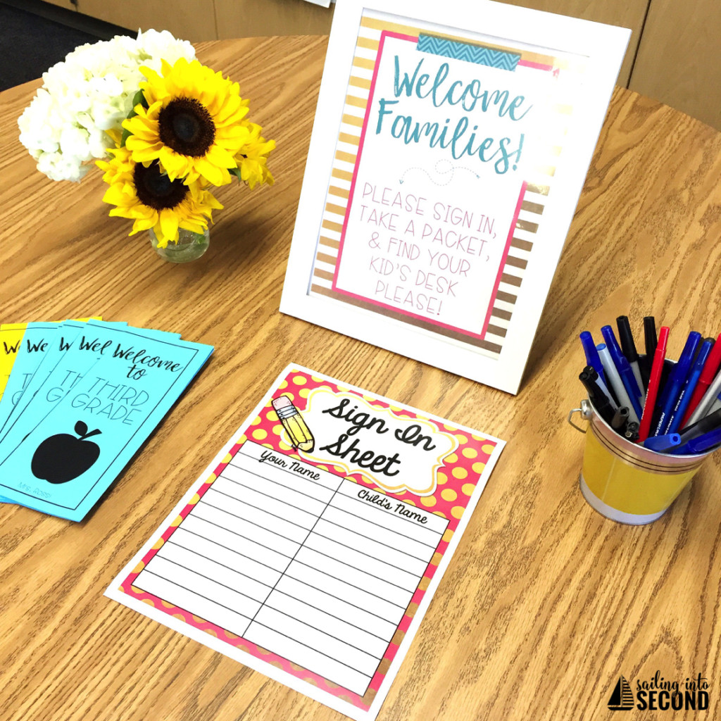 Back To School Night Ideas  Back to School Night Ideas Sailing into Second