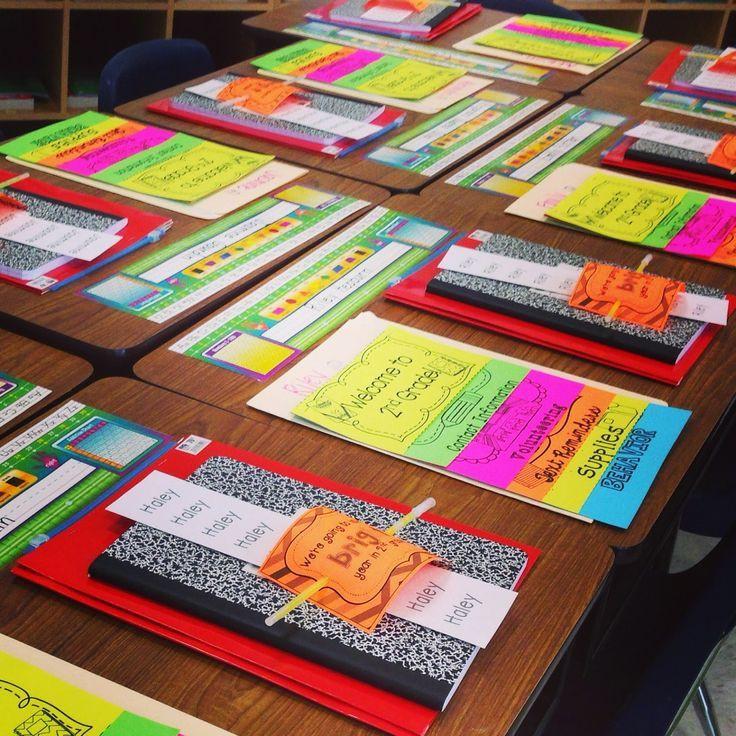 Back To School Night Ideas  Open House Meet the Teacher Night