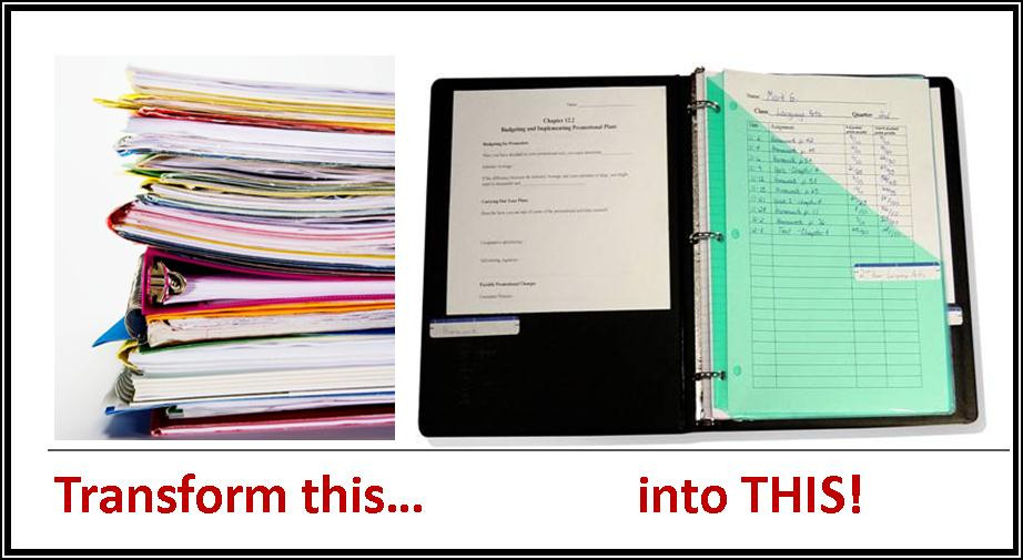 Binder Organization System  Why Organization Is Such a Challenge for Students Study