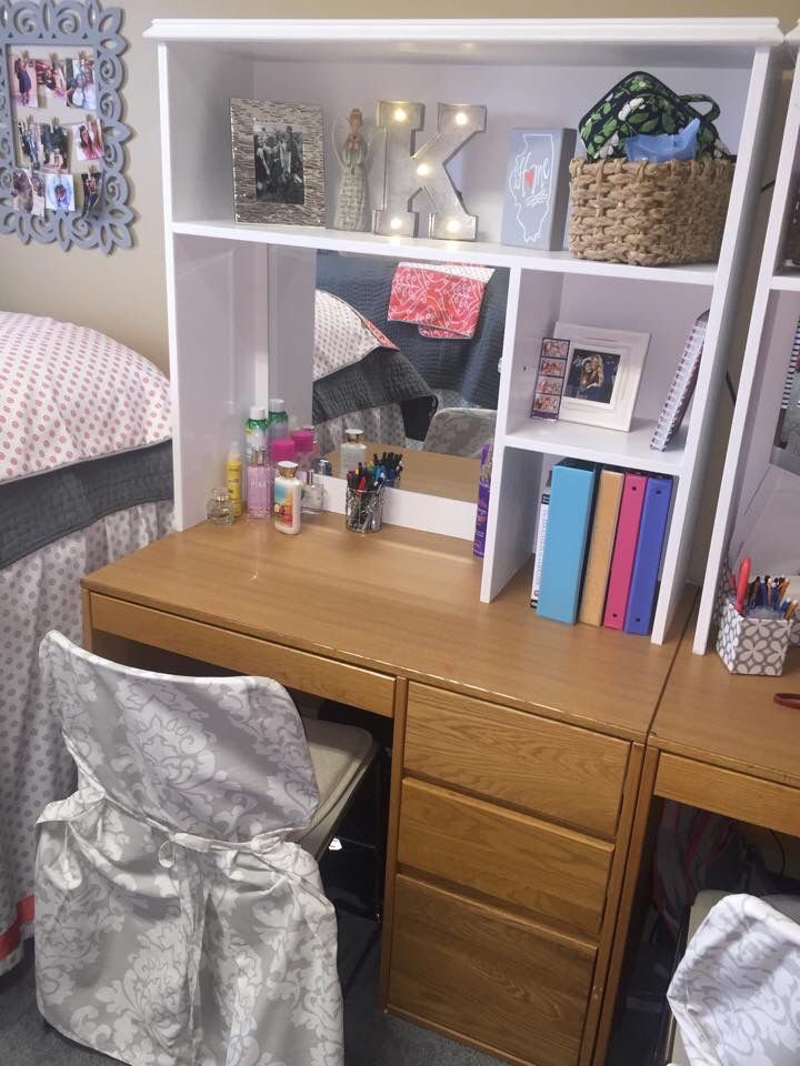 College Desk Organization  16 Clever Ways to Keep Your Dorm Room Super Organized This