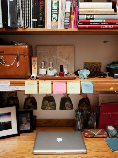 College Desk Organization  17 Best images about Dorm Room Inspiration on Pinterest