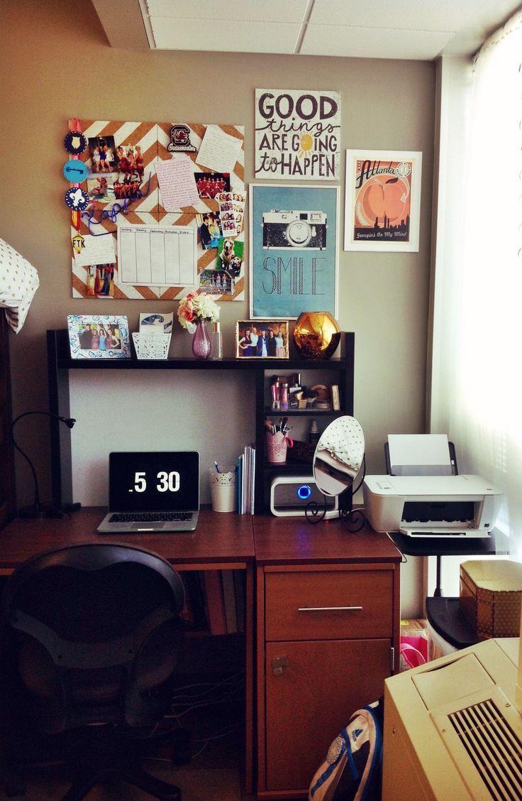 College Desk Organization  407 best images about dorm sweet dorm on Pinterest