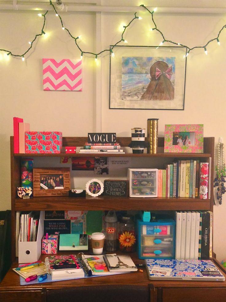 College Desk Organization  Best 25 College desk organization ideas on Pinterest