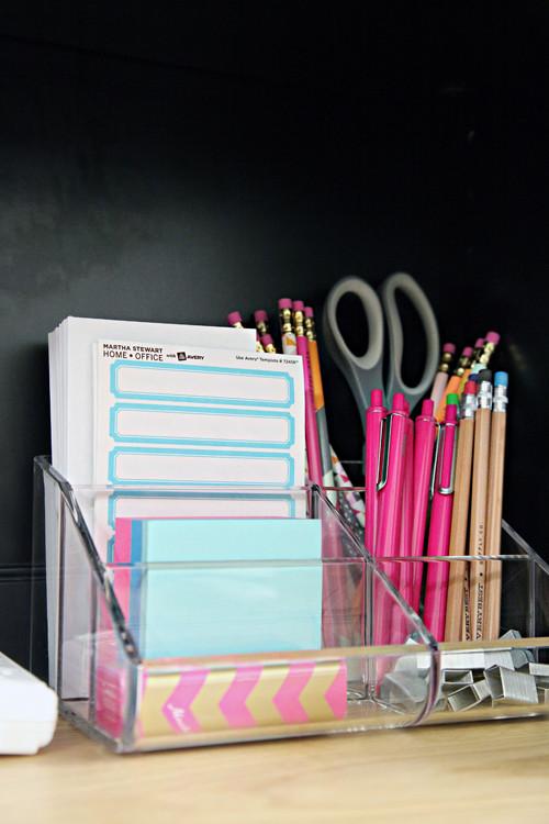 College Desk Organization  IHeart Organizing Back To School Dorm Room Organization Tips