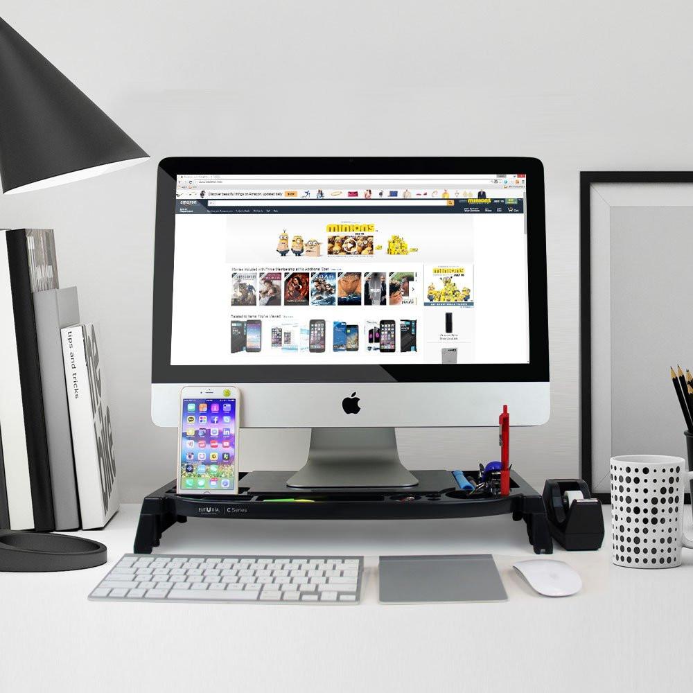 Computer Desk organizer Lovely Monitor Stand Desk organizer Laptop Puter Storage