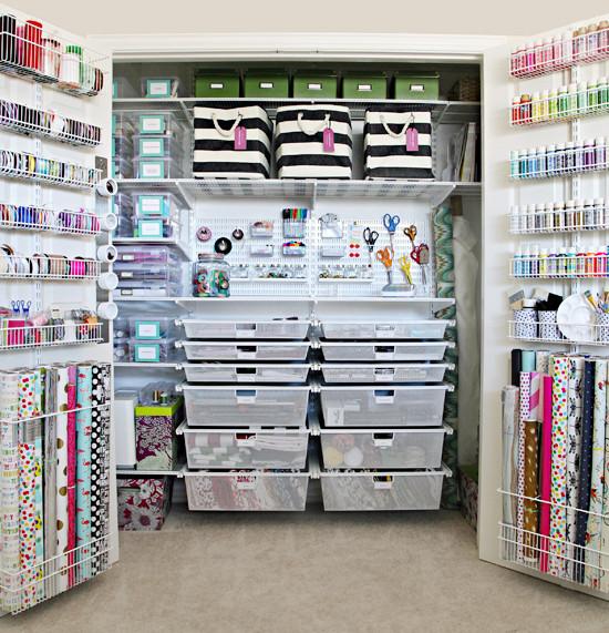 Craft Closet Organizer  IHeart Organizing The Ultimate Craft Closet Organization