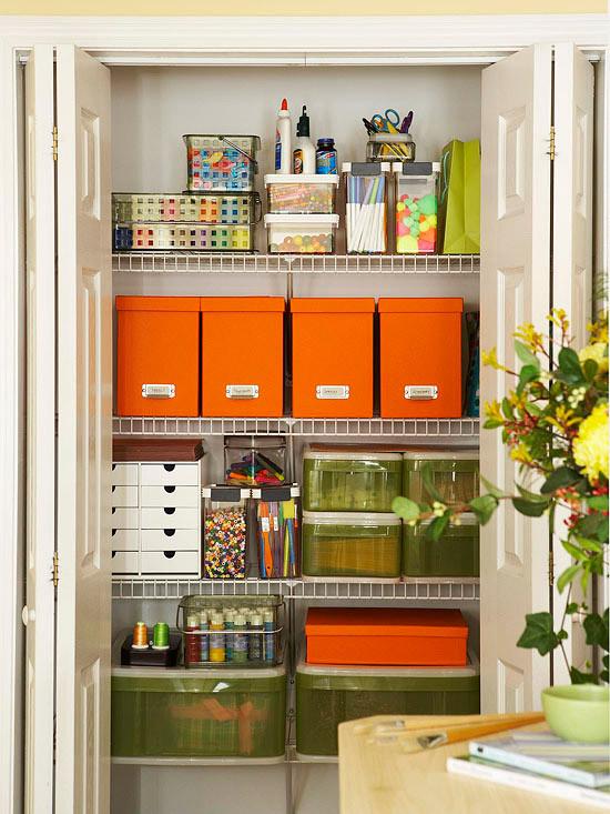 Craft Closet Organizer  Inspiration Craft Closet Organization The Inspired Room