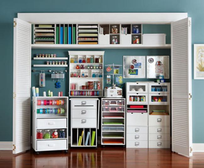 Craft Closet Organizer  Cube bookcase black swivel storage cabinet with mirror