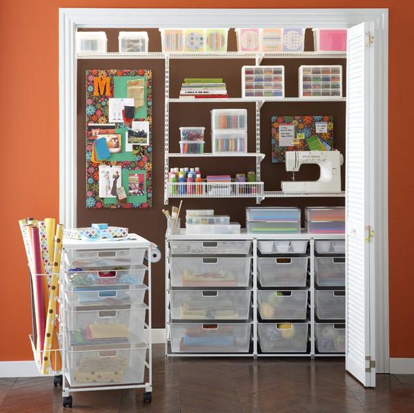 Craft Closet Organizer  Torque Story Bead room makeover part 1 the plan