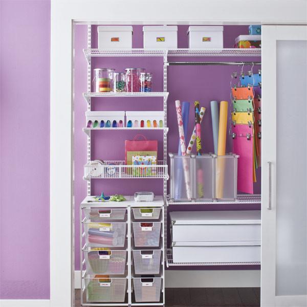 Craft Closet Organizer  Sugar Fresh Organizing Ideas