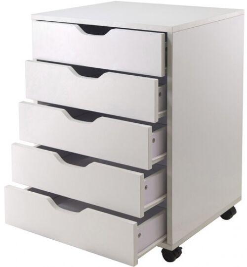Craft Drawer organizer Elegant Hobby Craft Storage organizer Mobile 5 Drawer Cart Art
