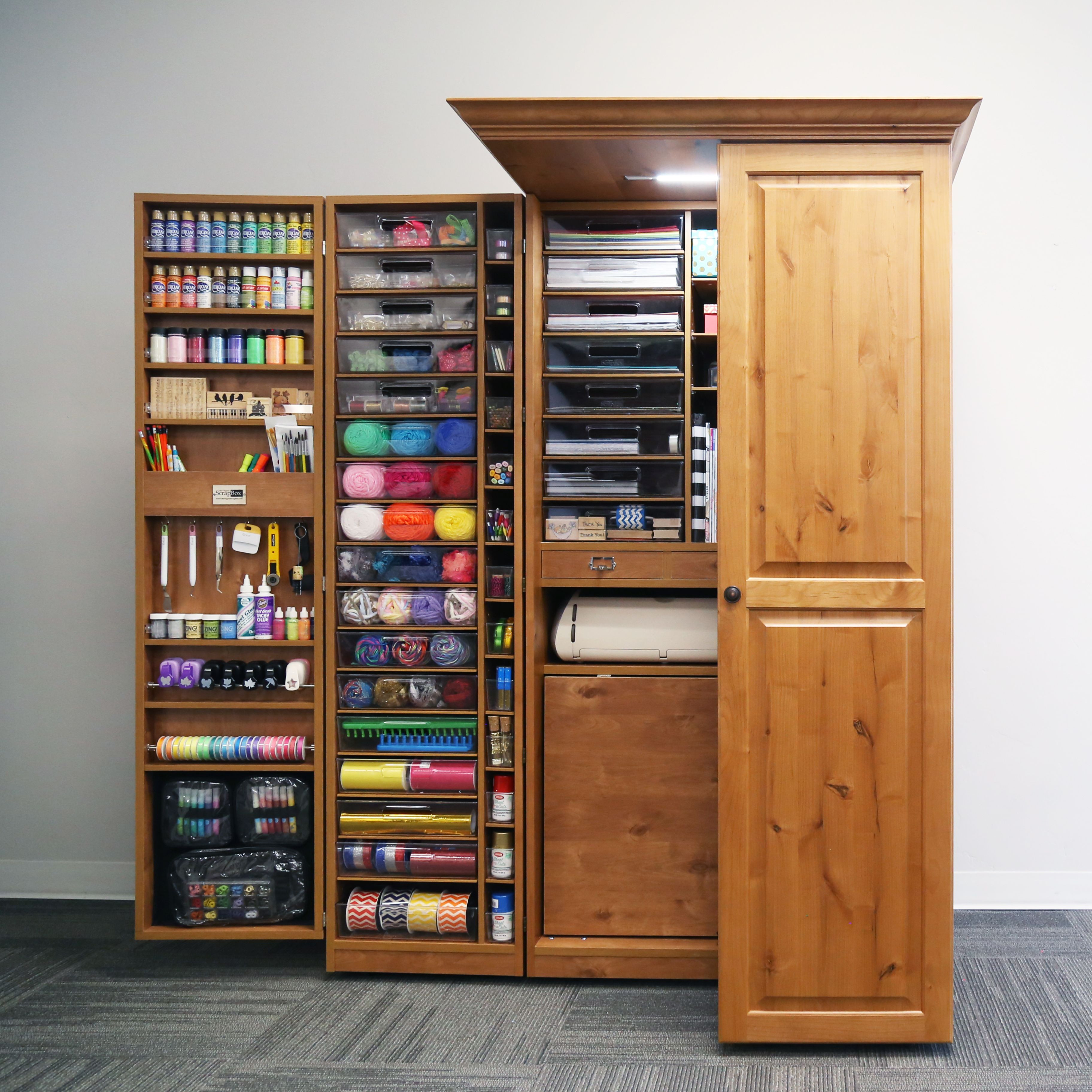20 Ideas for Craft organizer Cabinets - Home Inspiration ...