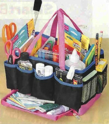 Craft Organizer Totes  13 PARTMENT CRAFT ORGANIZER STORAGE TOTE BAG
