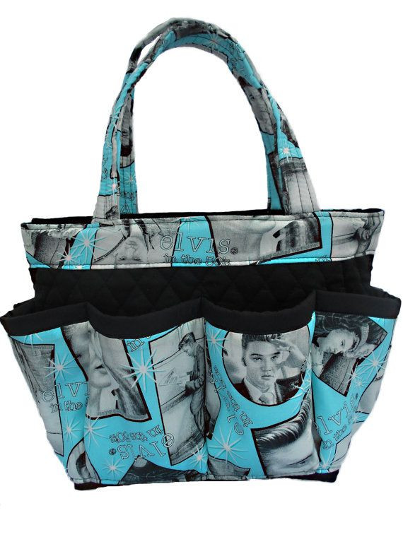 Craft Organizer Totes  Elvis Presley 8 Pockets Bingo Bag Craft Organizer