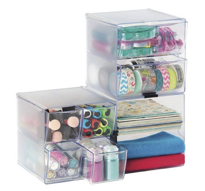 Cube Organizer Desk  Amazon Deflecto Stackable Cube Organizers Cross