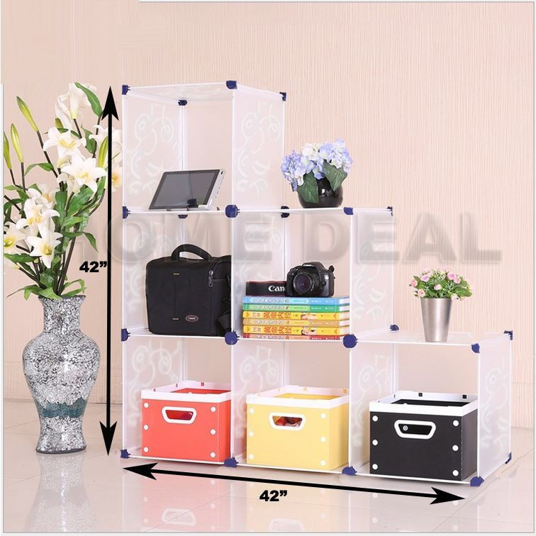 Cube Organizer Desk  DIY fice Storage HOME Cube System small business desk