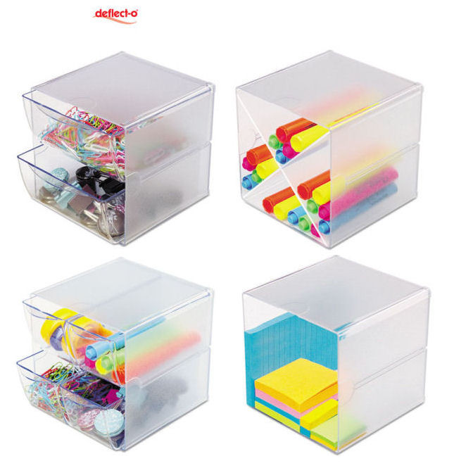 Cube Organizer Desk  Keep your work desk clutter free with Deflect o