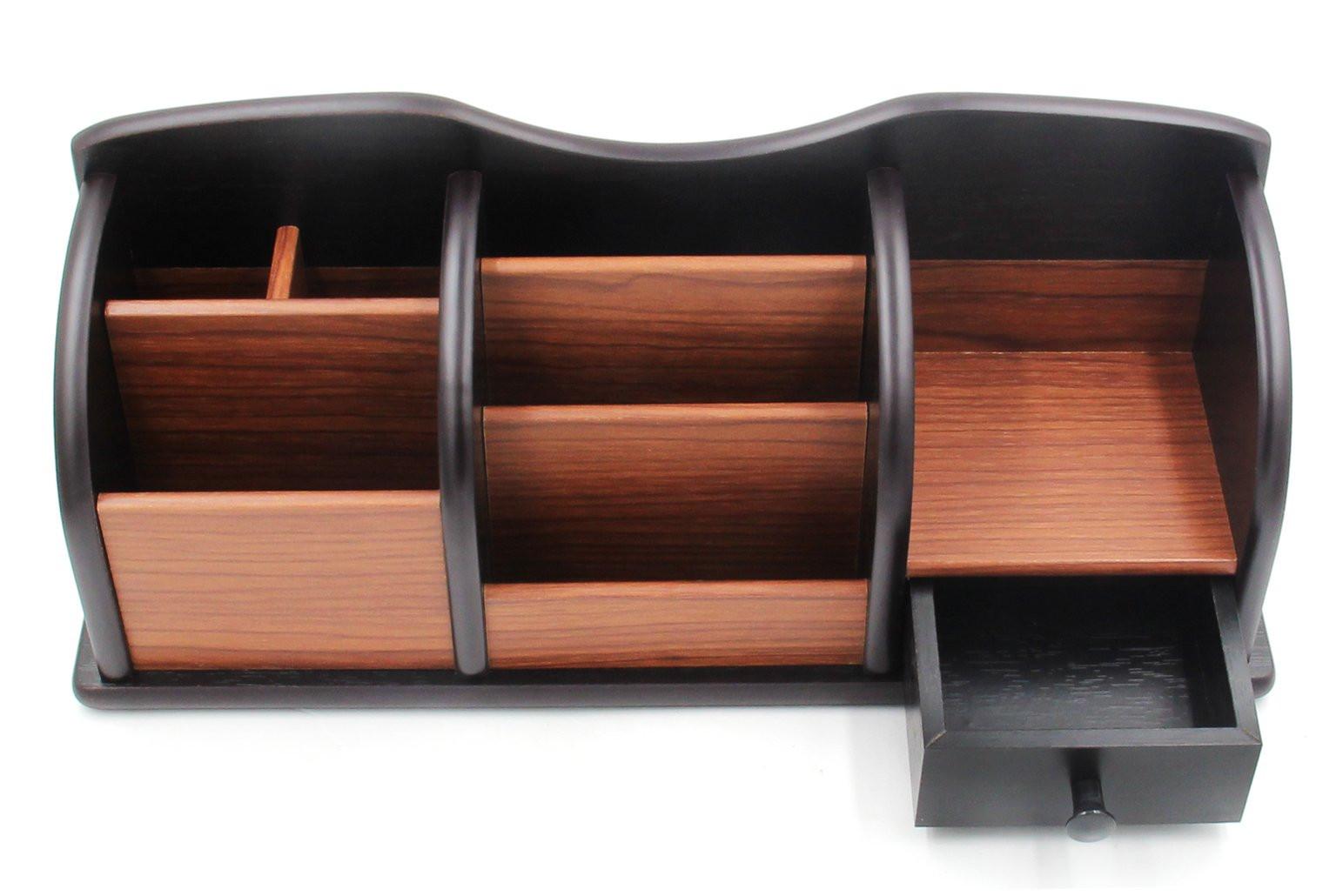 Desk Caddy Organizer  PAG fice Supplies Wood Desk Organizer Pen Holder