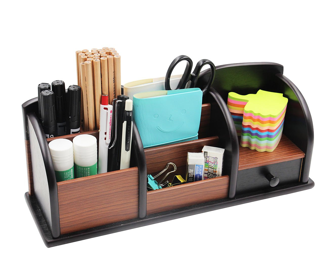 Desk Caddy organizer Unique Pag Fice Supplies Wood Desk organizer Pen Holder