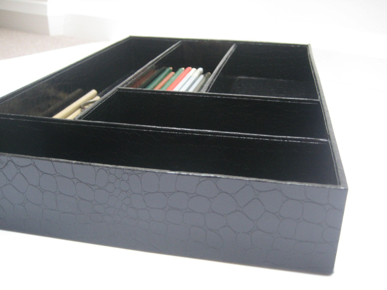 Desk Drawer Organizer Tray  Items similar to Desk Drawer Organizer Great Storage for