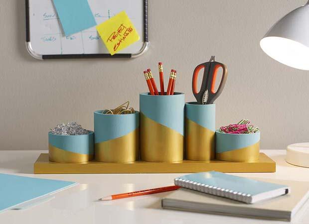 Desk Organization Diy  DIY Desk Organizing Ideas & Projects