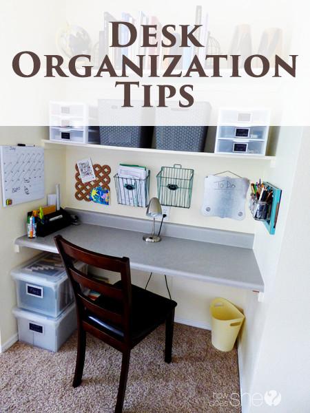 Desk organization Tips Fresh Desk organization Tips