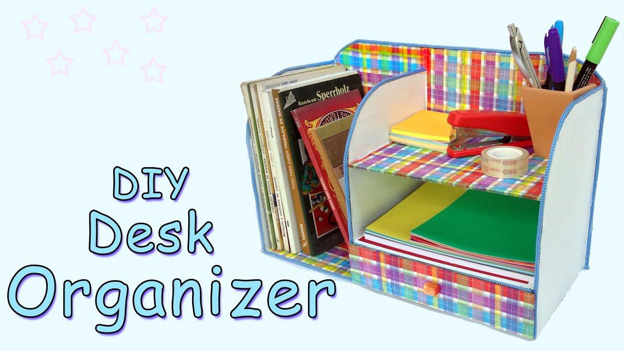 Desk Organizer Diy  DIY Desk Organizer Ana