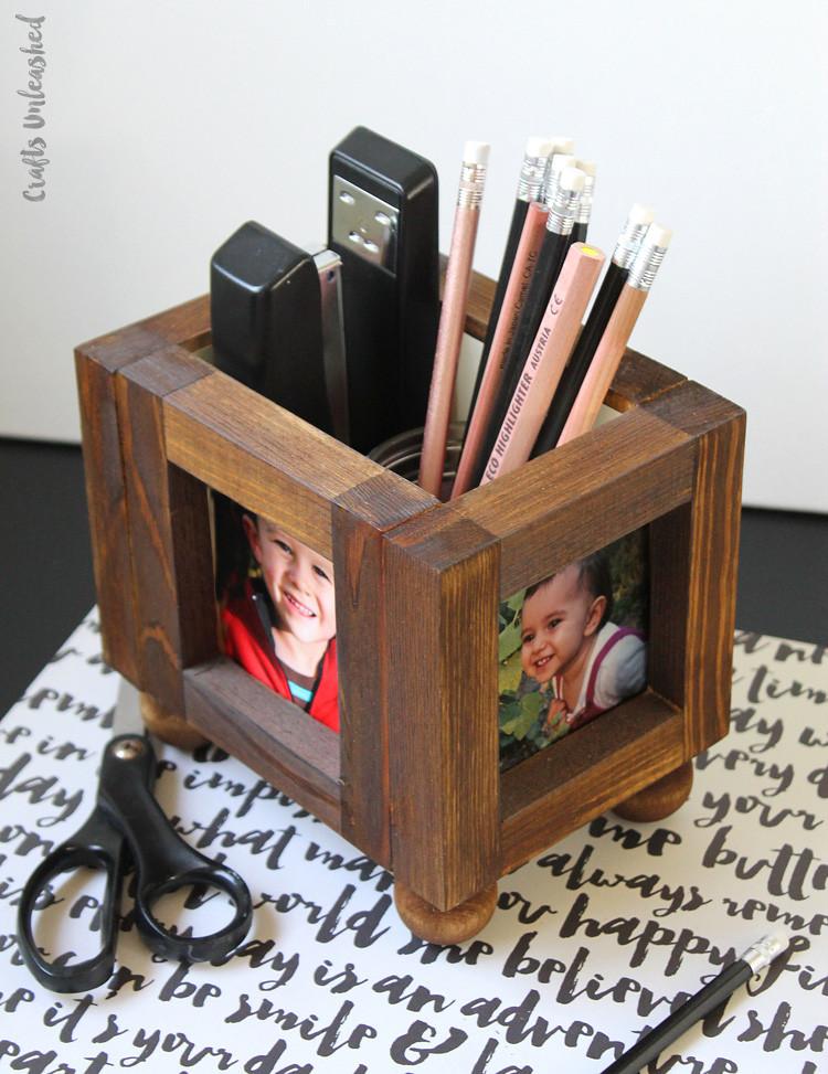 Desk Organizer Diy  DIY Desk Organizer Wood Frames Consumer Crafts