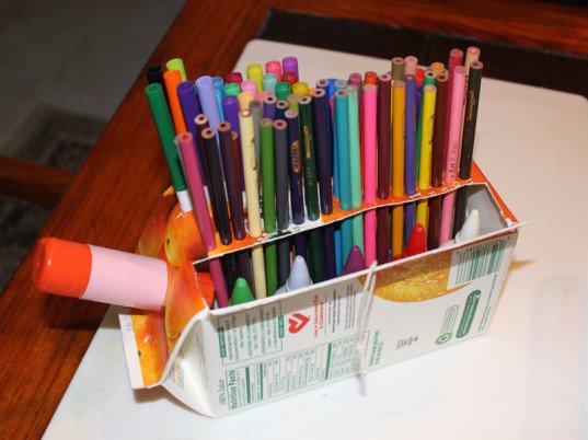 Desk Organizer Diy  14 Creative & Practical DIY Desk Organization & Storage Ideas