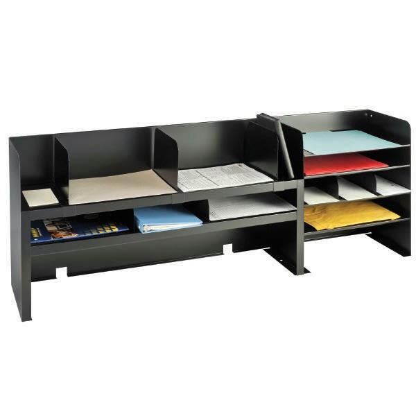 Desk organizer Shelf Best Of Desk organizer with Adjustable Shelves Black