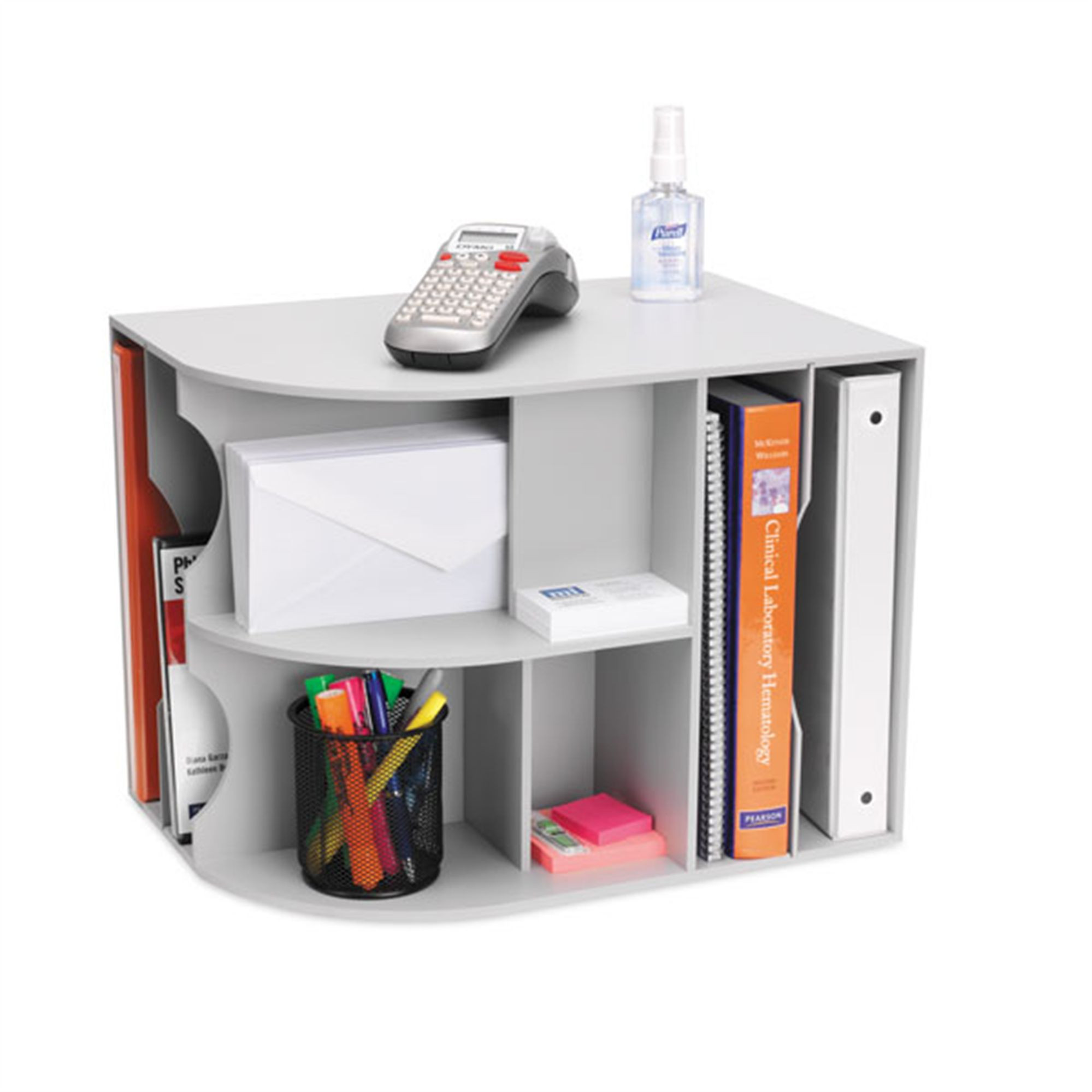 Desk Top Organizer  3 Way Desktop Organizer MarketLab Inc