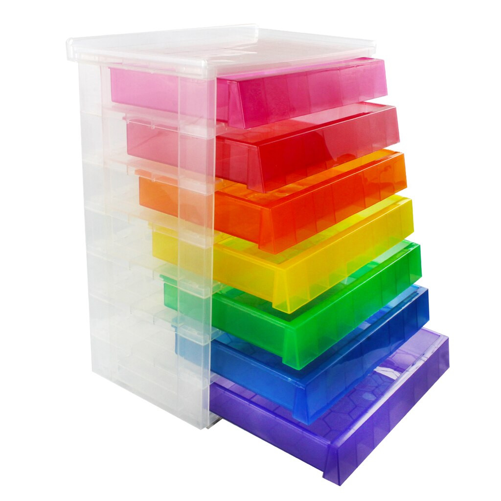 Desk Top Organizer  7 Drawer Desktop Organizer by Recollections™
