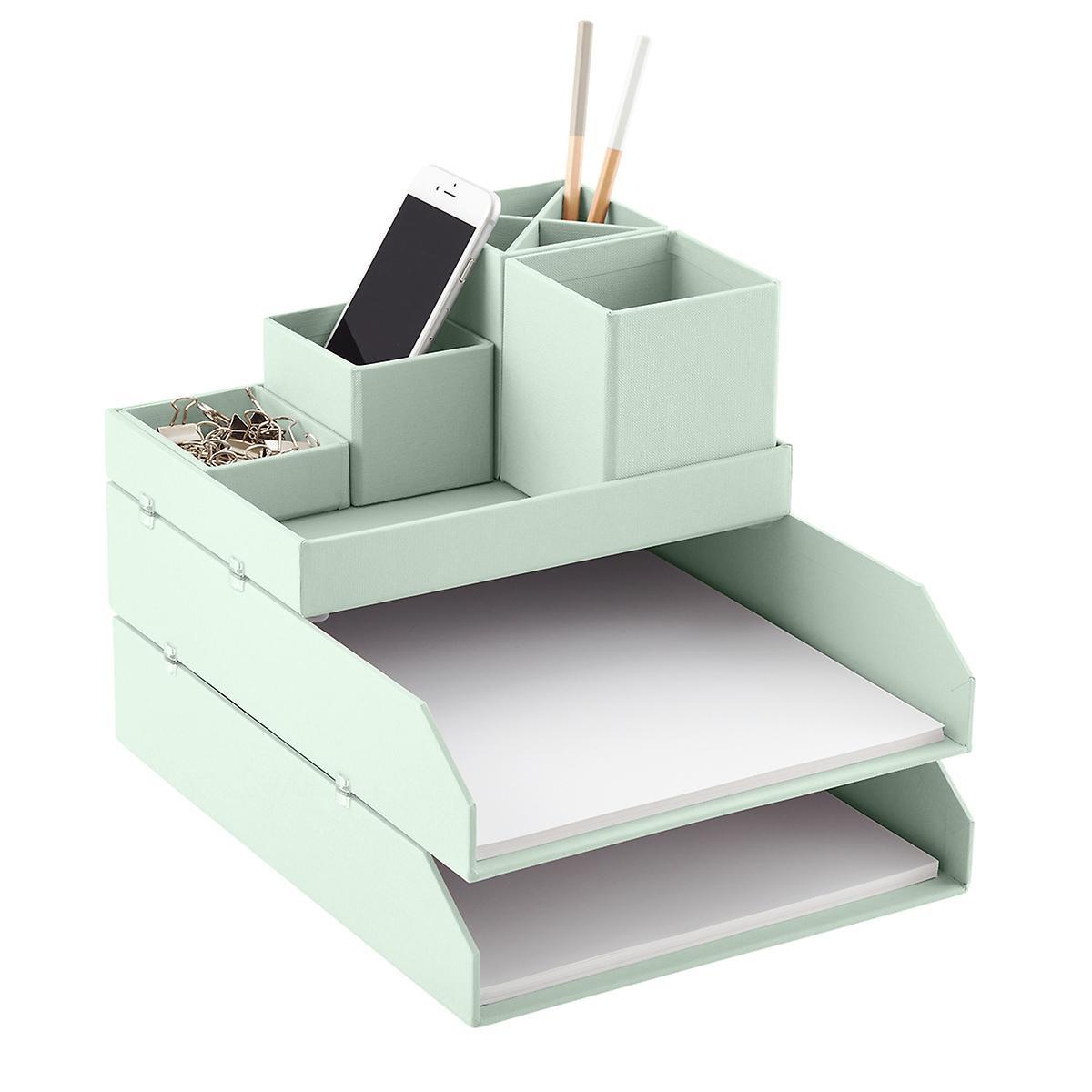 Desk Top Organizer  Bigso Mint Stockholm Desktop Organizer