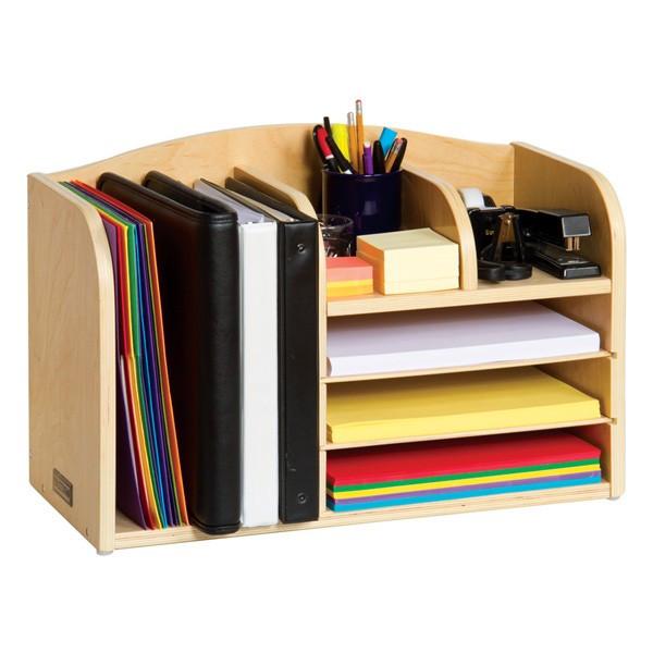 Desk Top Organizer  Teacher s Assistant Desktop Organizer