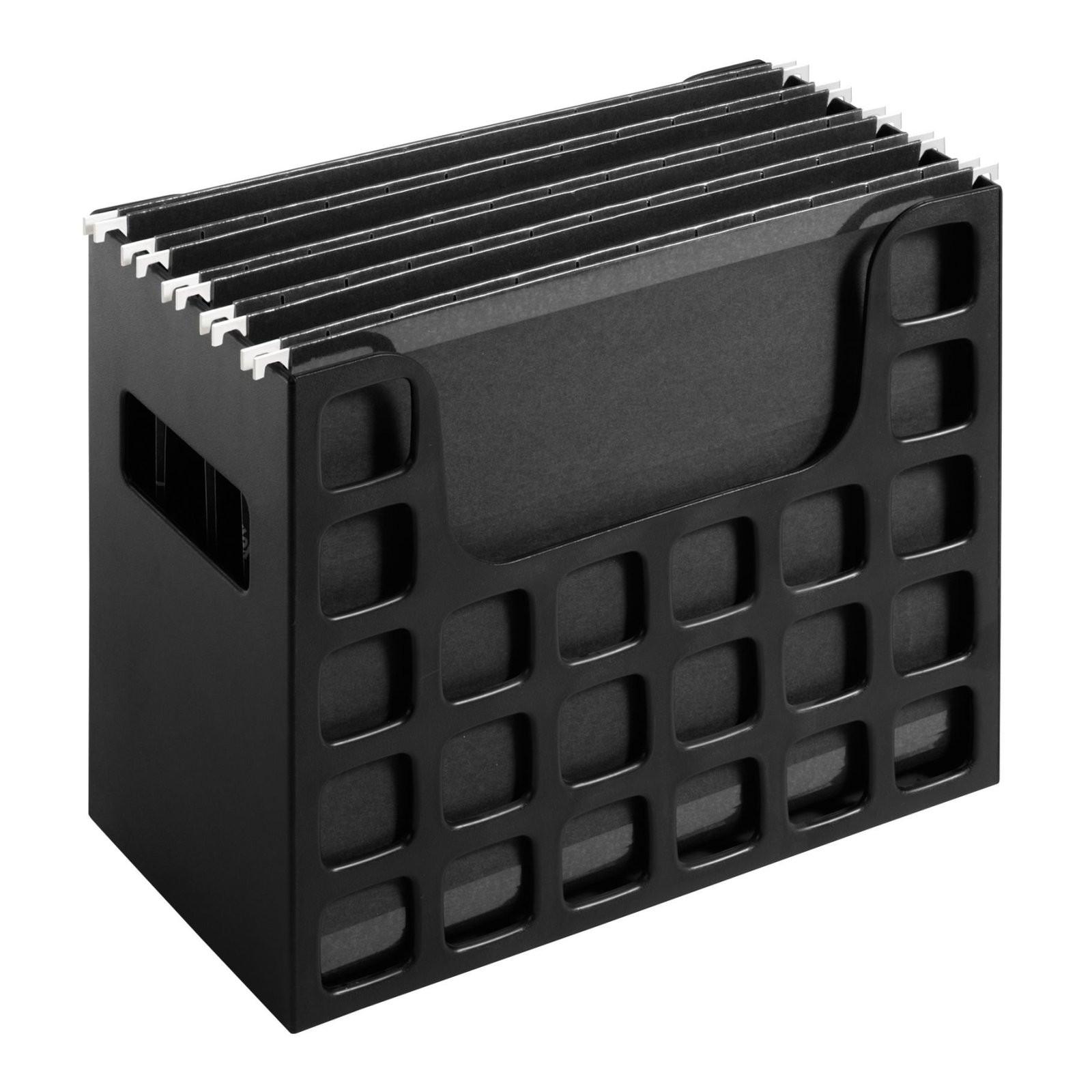 Desktop File Folder Organizer  Desktop File Box Hanging Folder Organizer Storage Rack