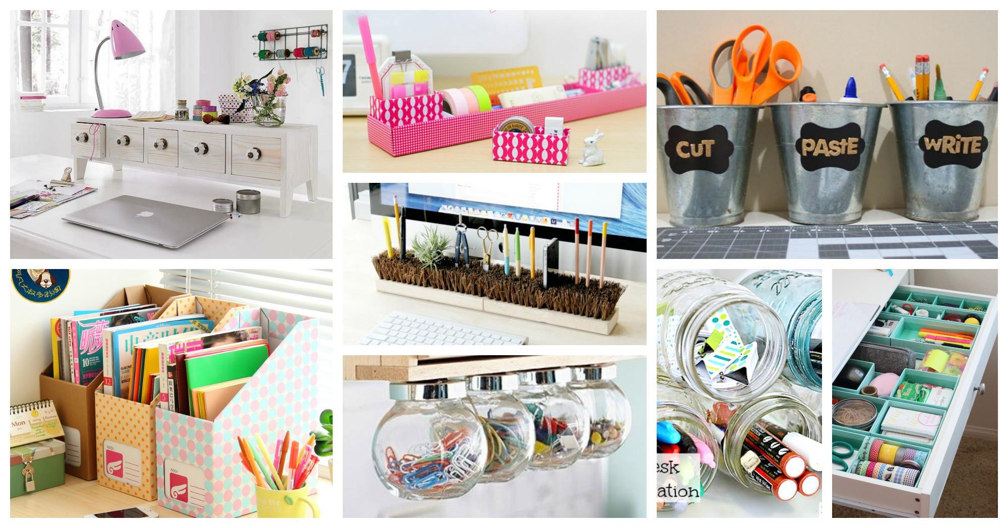 Diy Desk Organization  Easy And Simple DIY Desk Organization Ideas That You Will Like