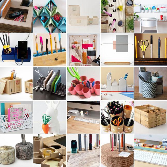 Diy Desk Organization  25 Clever Ways to Keep Your Workspace Organized
