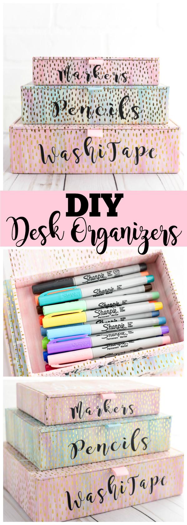 Diy Desk Organization  DIY Desk Organizers
