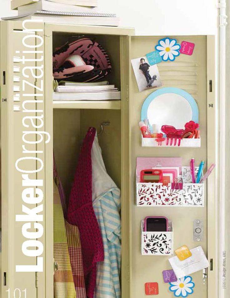 Diy Locker Organization  Keep your locker neat and tidy at all times Organization