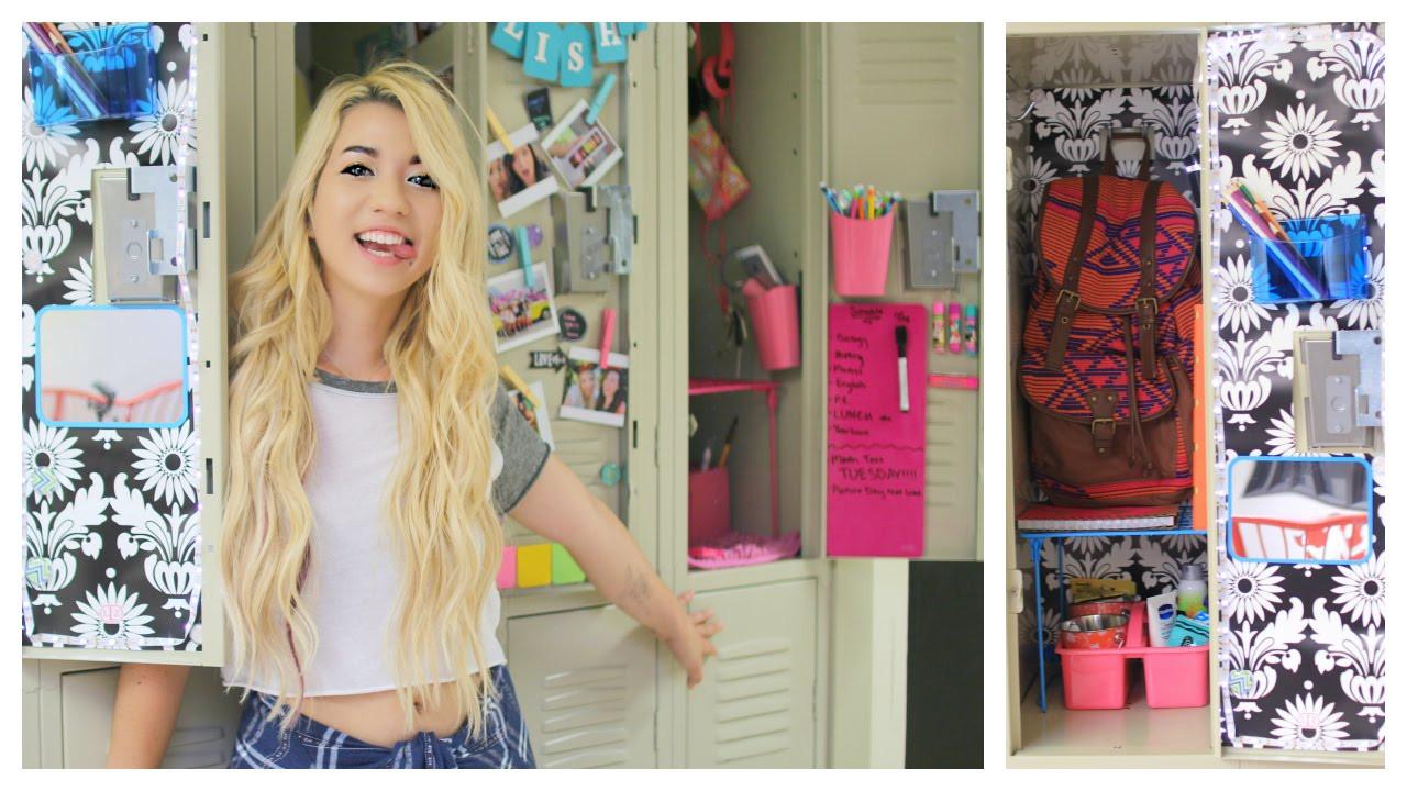 Diy Locker Organization  Back To School DIY Locker Organization & Decorations