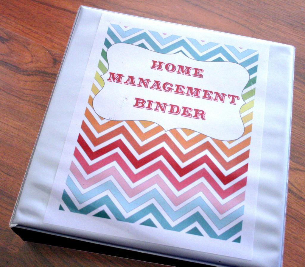 The 20 Best Ideas For Home Organization Binder