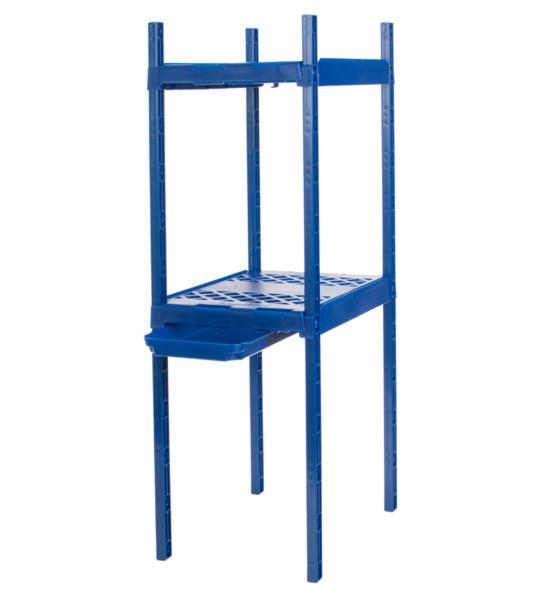 Locker Organizer Shelf  Adjustable Double Locker Shelf in Locker Organizers