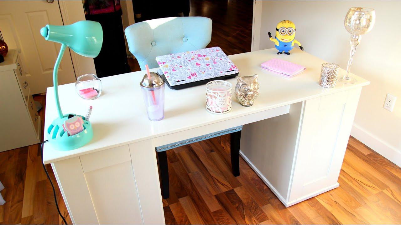 Office Desk Organization Ideas  fice Tour Desk Tour Organization Ideas