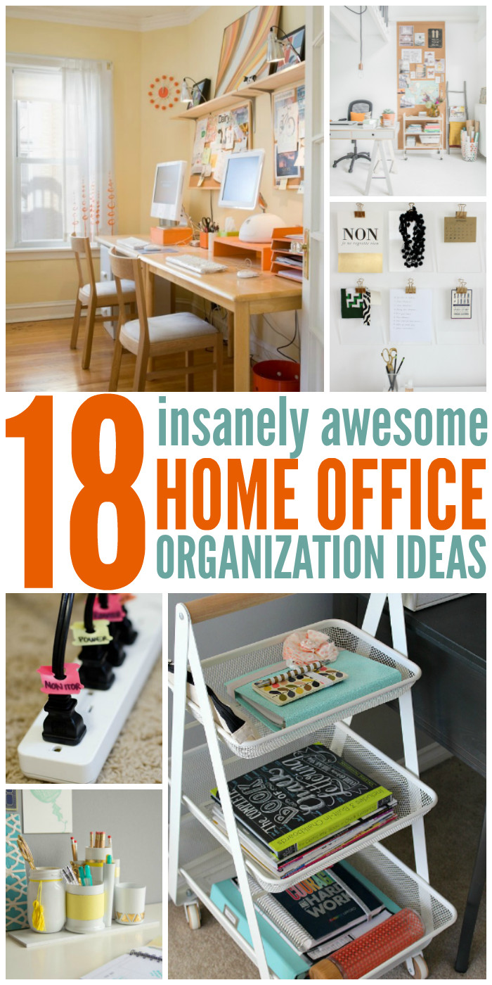 Office Desk Organization Ideas  18 Insanely Awesome Home fice Organization Ideas
